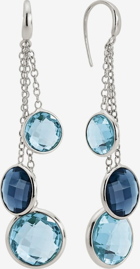 Zoccai Earrings in Blue / Silver, Item view