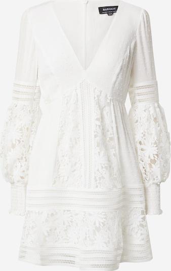 Bardot Robe 'Mariah' en blanc, Vue avec produit