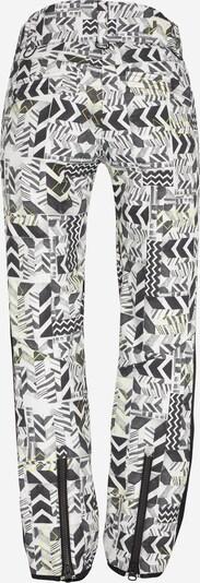 Sportinės kelnės iš CHIEMSEE , spalva - juoda / balta: Vaizdas iš galinės pusės