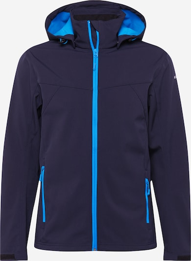 ICEPEAK Sportska jakna 'BIGGS' u morsko plava / svijetloplava, Pregled proizvoda