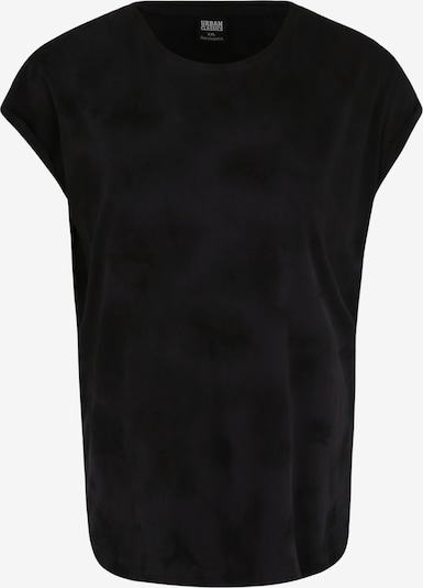 Urban Classics Curvy T-shirt en bleu foncé / gris / noir, Vue avec produit