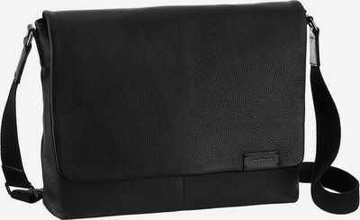 STRELLSON Messenger Bag in schwarz: Frontalansicht