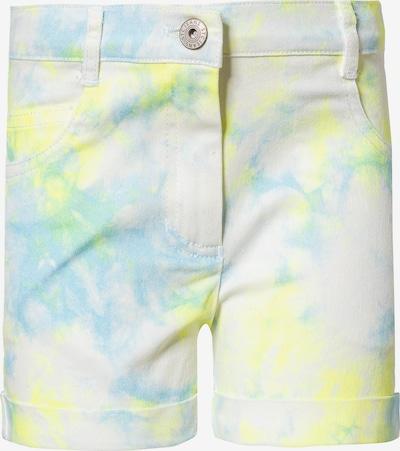 STACCATO Shorts in blau / neongelb / weiß, Produktansicht