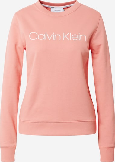Calvin Klein Sweater majica u svijetloroza / bijela, Pregled proizvoda