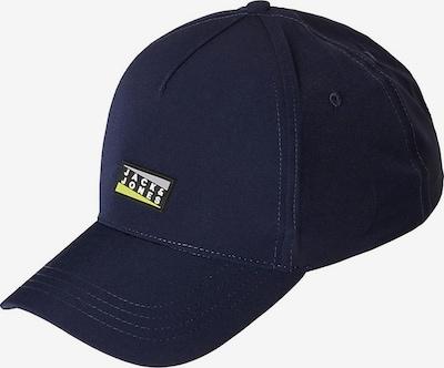 Jack & Jones Junior Cap 'Vincent' in dunkelblau / pastellgelb / schwarz / weiß, Produktansicht