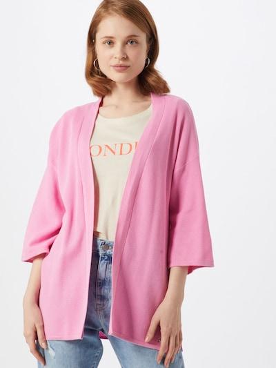 TOM TAILOR DENIM Strickjacke in pink, Modelansicht