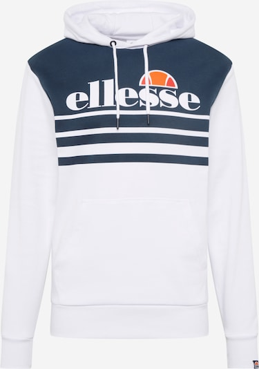 ELLESSE Sweatshirt 'RIVERA' in marine / orange / grenadine / weiß, Produktansicht
