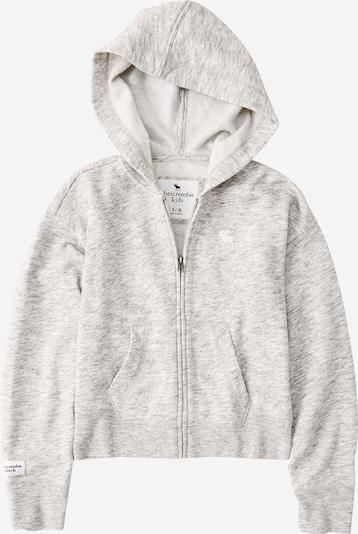 Abercrombie & Fitch Veste de survêtement en gris chiné, Vue avec produit