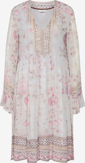 Frogbox Sukienka w kolorze różowy pudrowy / białym, Podgląd produktu