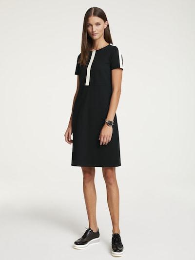 heine Jerseykleid in schwarz / weiß, Modelansicht