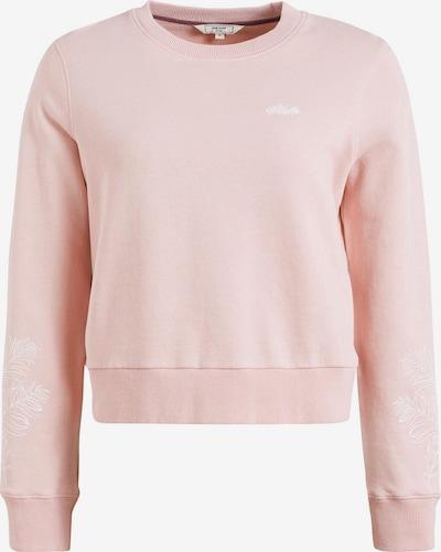 khujo Sweatshirt 'Anakoni Leaves Embro' in pink, Produktansicht