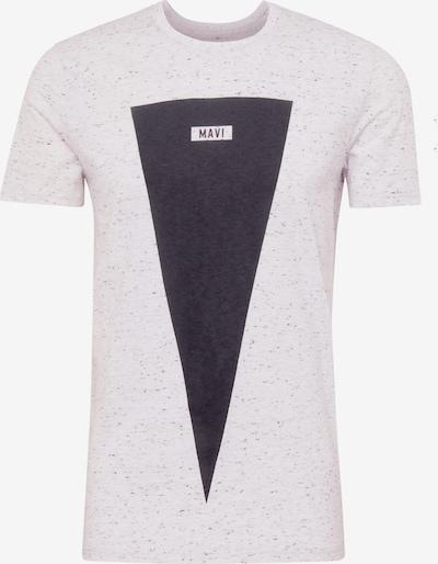 Mavi Shirt in dunkelblau / grau / graumeliert, Produktansicht