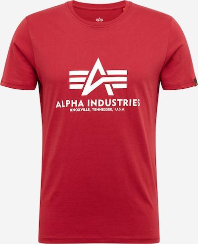 ALPHA INDUSTRIES Shirt in de kleur Rood, Productweergave