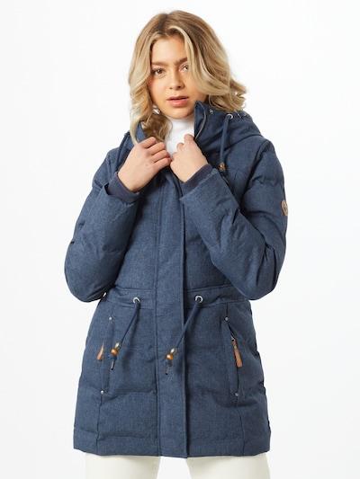 Ragwear Winterjacke 'Ashani' in rauchblau, Modelansicht