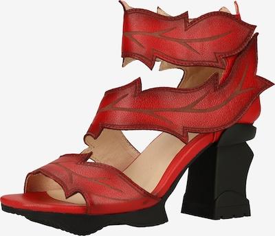 Laura Vita Sandalen in rot, Produktansicht