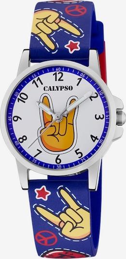 CALYPSO WATCHES Quarzuhr 'Junior Collection' in blau / mischfarben / orange / weiß, Produktansicht