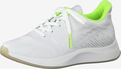 TAMARIS Sneaker 'Tamaris Fashletics' in neongrün / weiß, Produktansicht