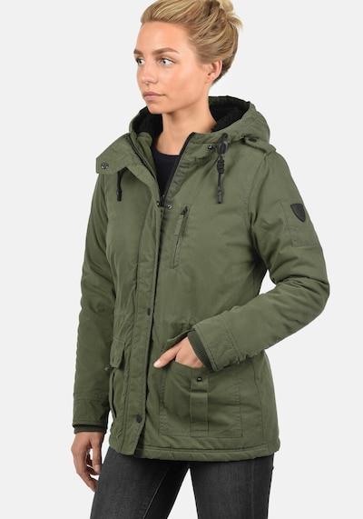 Desires Winterjacke 'Lisa' in grün: Frontalansicht