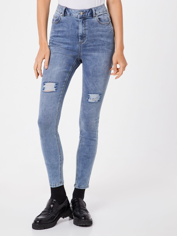 ABOUT YOU Jeans 'Hallena' in blue denim, Modelansicht