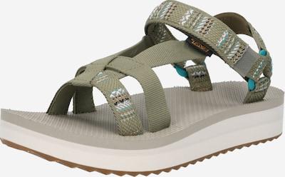 TEVA Sandale 'Arivaca' in türkis / khaki / koralle / schwarz / weiß, Produktansicht
