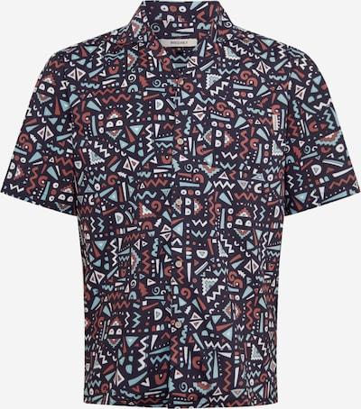 Iriedaily Hemd in braun / mint / schwarz, Produktansicht