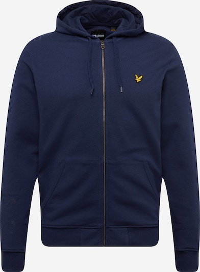 Lyle & Scott Sweatvest in de kleur Navy, Productweergave
