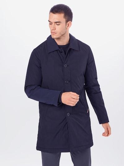 TOMMY HILFIGER Mantel in dunkelblau, Modelansicht