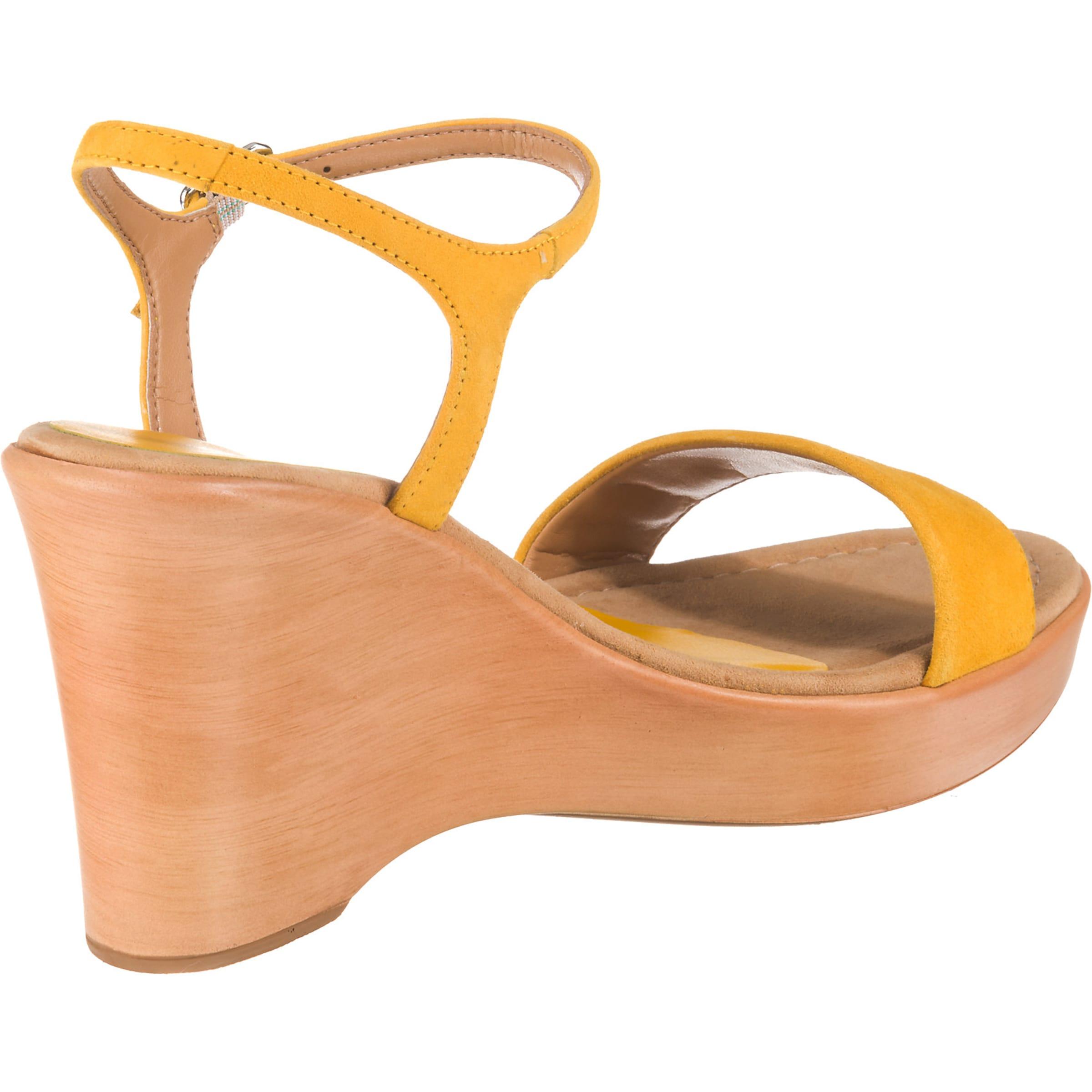 Goldgelb Unisa Unisa Sandaletten Unisa In Sandaletten Sandaletten In Goldgelb rCBoxeWd