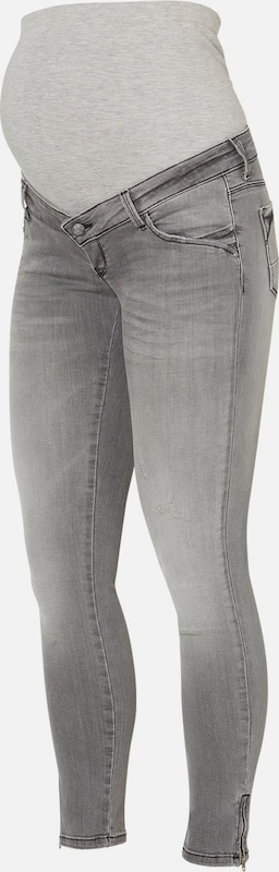 MAMALICIOUS Jeans in grau denim  Mode neue Kleidung