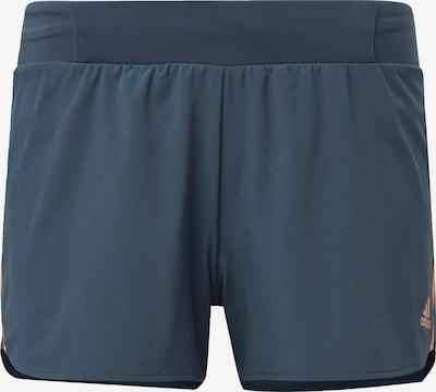 ADIDAS PERFORMANCE Sportbroek in de kleur Smoky blue: Vooraanzicht