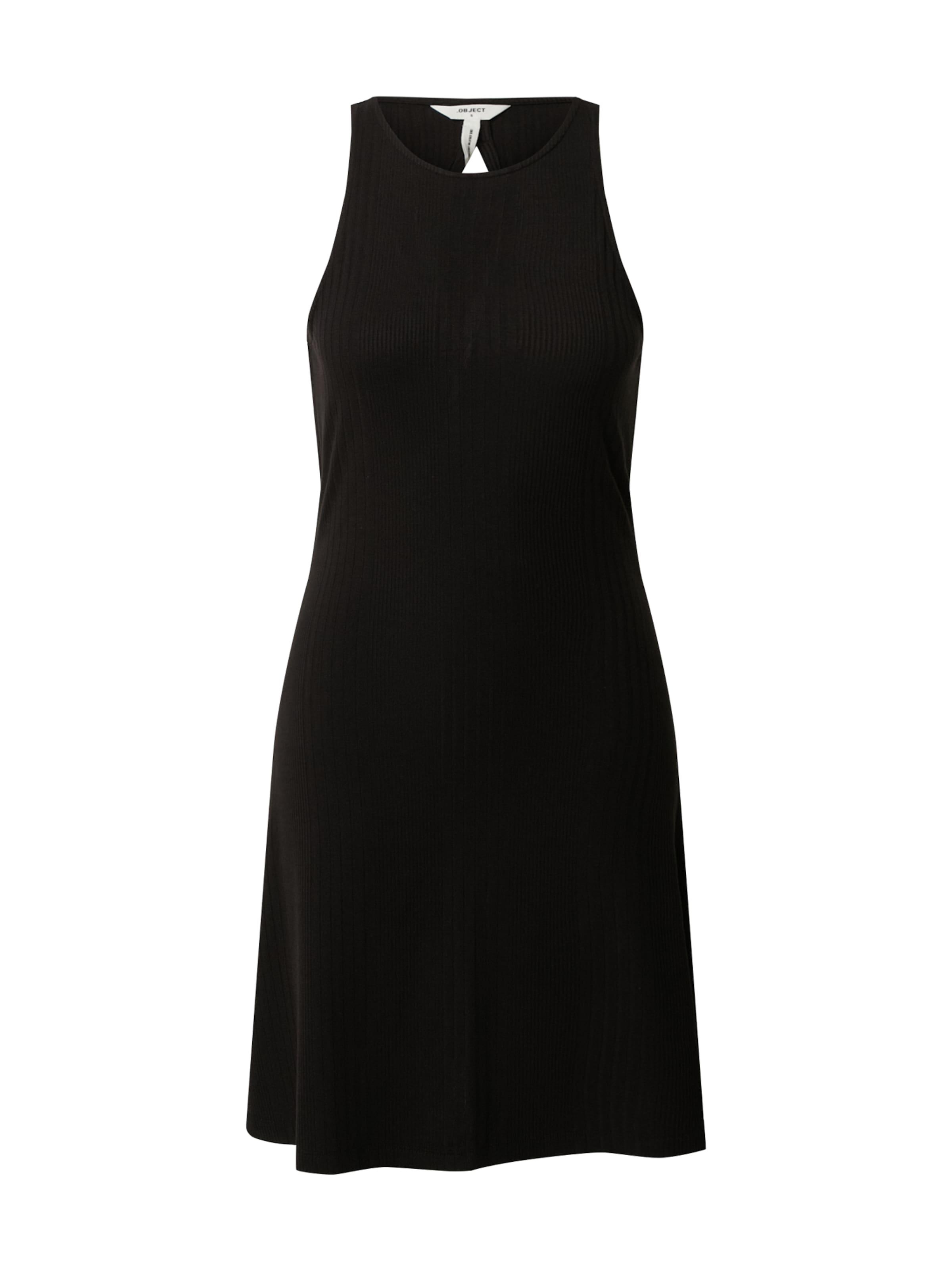 OBJECT Klänning 'OBJCELIA S/L SHORT DRESS PB8' i svart