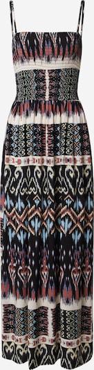 JACQUELINE de YONG Kleid 'TRAVIS' in blau / braun / schwarz / weiß, Produktansicht