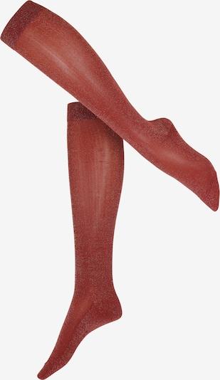 FALKE Kniestrümpfe 'Shiny' in rot, Produktansicht