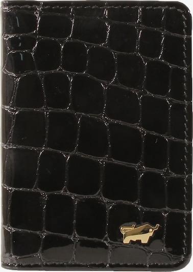 Braun Büffel Kartenetui in schwarz, Produktansicht