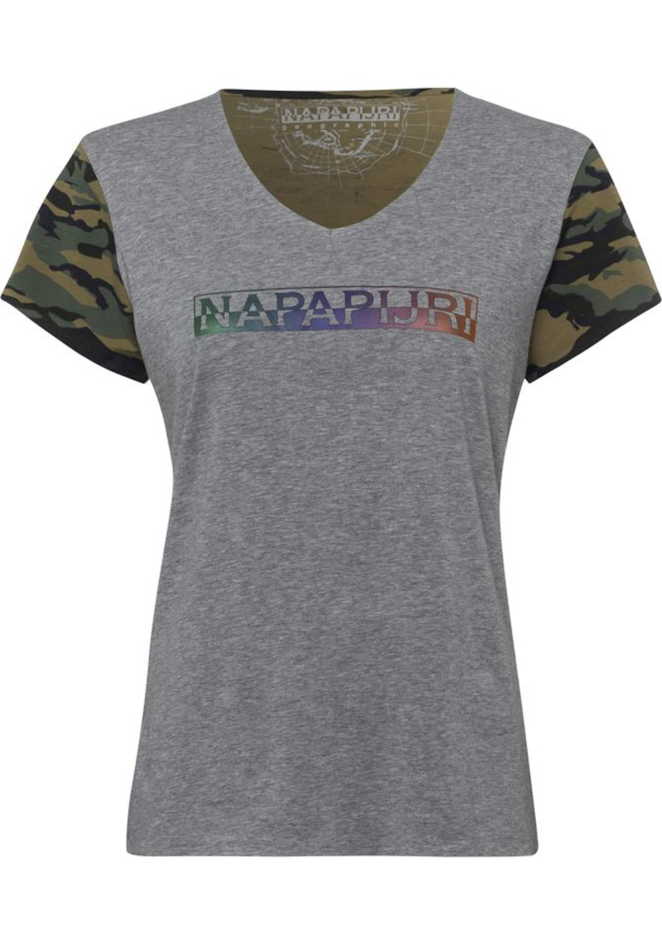 NAPAPIJRI Napapijri V-Shirt »Soury« Besuchen Neue Online Erschwinglich Günstig Online S9SzJVapV