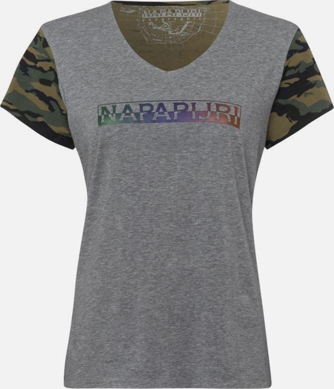 NAPAPIJRI Napapijri V-Shirt »Soury«