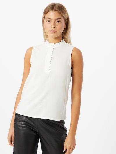 ONLY Blusentop 'Mimi' in weiß, Modelansicht
