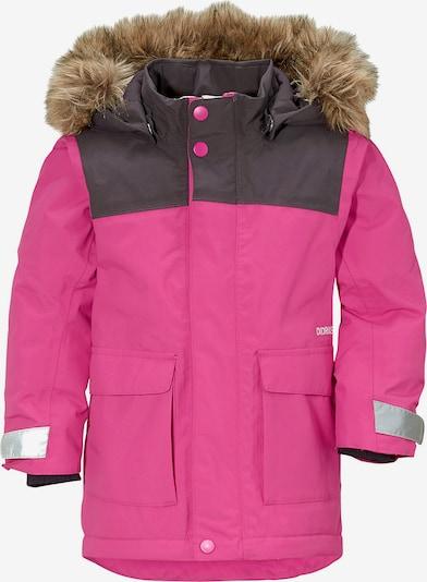 Didriksons Parka 'Kure' in marine / pink, Produktansicht
