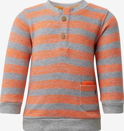 TOM TAILOR Sweatshirts in grau / neonorange, Produktansicht