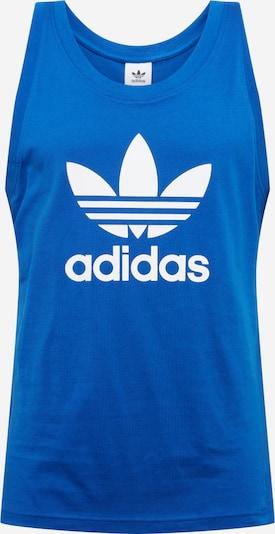 ADIDAS ORIGINALS Shirt 'TREFOIL' in de kleur Royal blue/koningsblauw / Wit, Productweergave