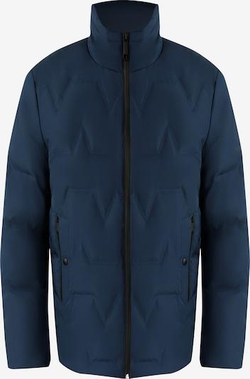 Finn Flare Daunenjacke im Stepp-Design in blau, Produktansicht