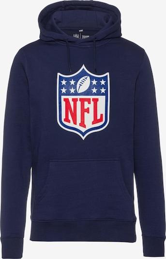 Fanatics Hoodie 'NFL' in navy / rot / weiß, Produktansicht