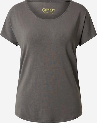 Cartoon T-Shirt in rauchgrau, Produktansicht