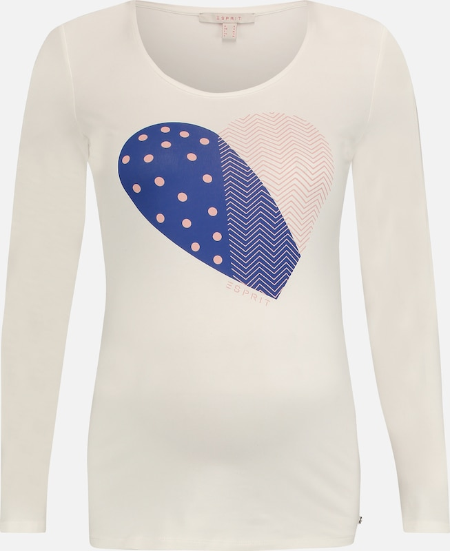 Esprit In Maternity BlauwLichtroze Wit Shirt R4j5LA