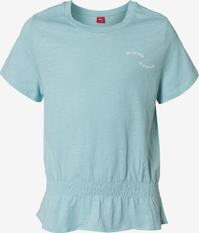 s.Oliver Junior T-Shirt in blau, Produktansicht