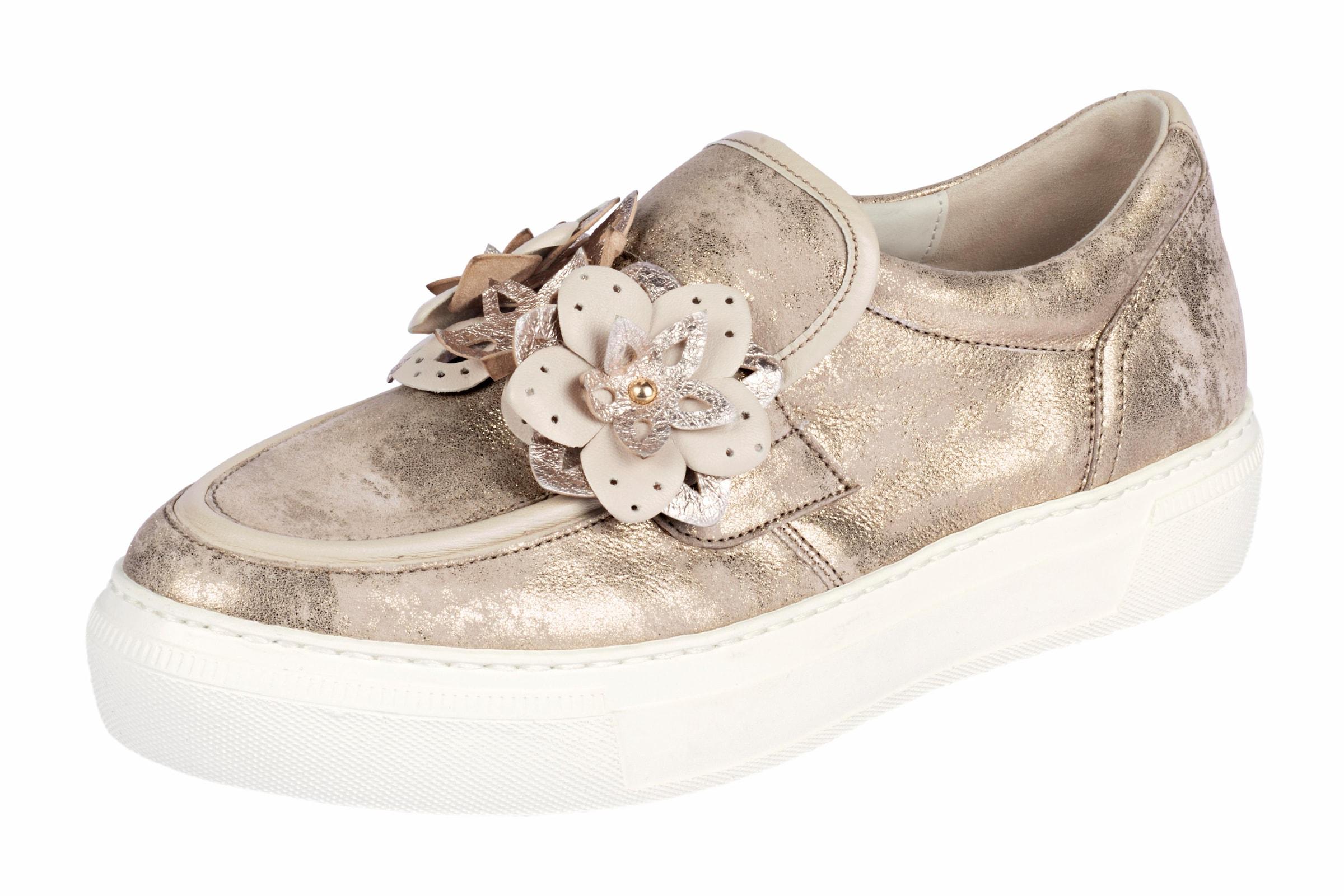 GABOR Slipper mit Blütenapplikation Günstige und langlebige Schuhe