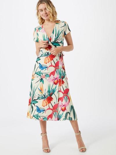 Femi Stories Letní šaty 'ELSA' - krémová / mix barev / červená, Model/ka