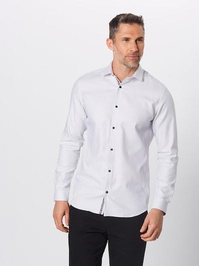 Dalykiniai marškiniai 'JPRVICTOR L/S NOOS' iš JACK & JONES , spalva - balta: Vaizdas iš priekio