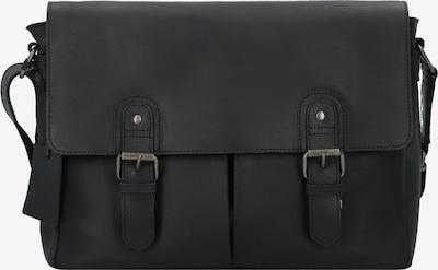 Burkely Schoudertas 'Glenn' in de kleur Zwart, Productweergave