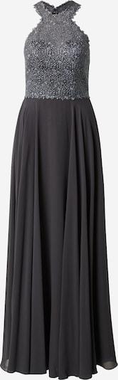 mascara Suknia wieczorowa 'SPARKLE LACE' w kolorze ciemnoszarym: Widok z przodu